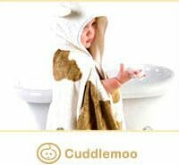 soft hooded bamboo towel for eczema