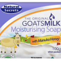 Manuka Honey goats milk soap for eczema