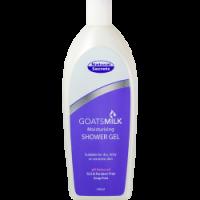 goats milk shower gel for eczema treatment