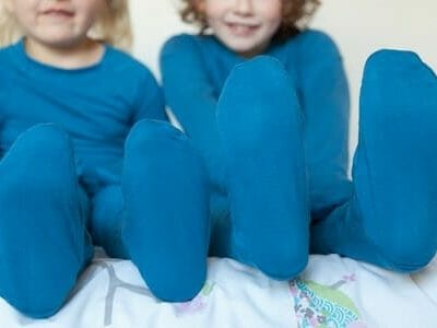 eczema clothing for kids eczemawear footed pants