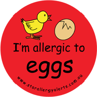 Egg allergy alert egg anaphylaxis Allerchic