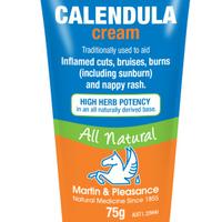 Calendula cream for eczema treatment