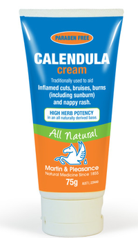 Calendula cream for eczema treatment