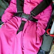 Bamboo sleeping bag for babies with eczema