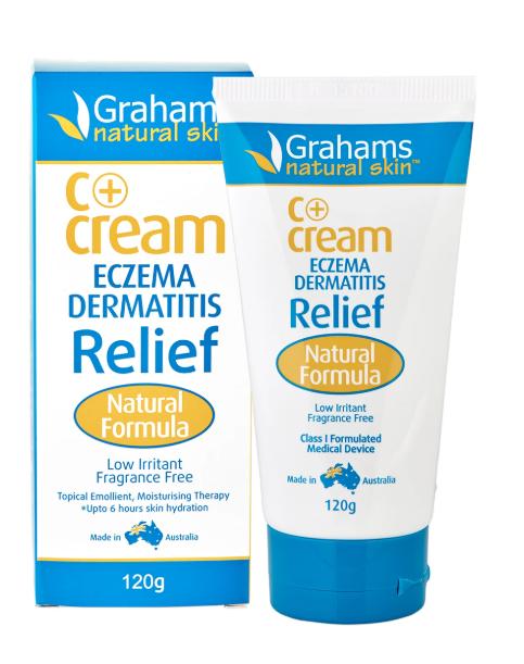 C+ eczema & dermatitis cream