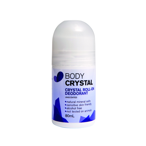 Crystal roll on deodorant for eczema & allergies