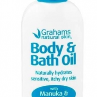 Grahams natural bath oil for eczema treatment Australia