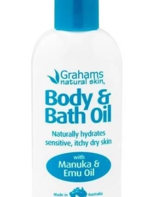Grahams natural bath oil for eczema