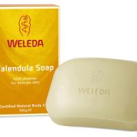 Calendula soap for eczema treatment
