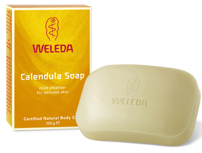 Calendula soap for eczema treatment