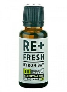 Lemon myrtle oil for molluscum contagiosum