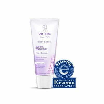 White Mallow eczema face cream