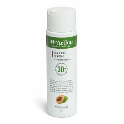 McArthurs scalp care shampoo for eczema