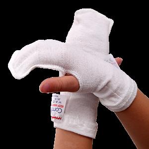 Eczema wet wrap mittens