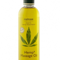 Hemp Massage oil for eczema