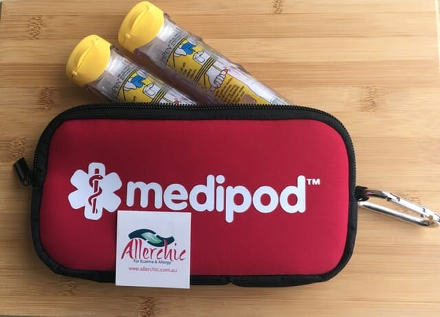 Insulated Epipen Bag front