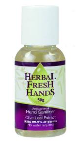 Herbal Hand Sanitiser for eczema