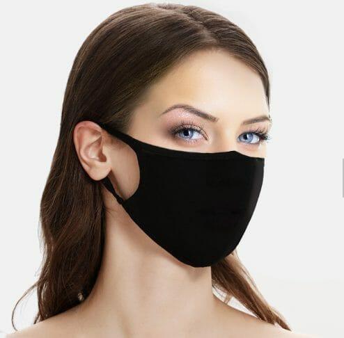 100% Organic Cotton face mask